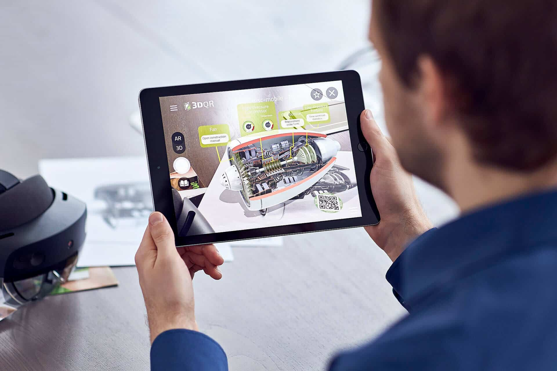 3DQR Augmented Reality App