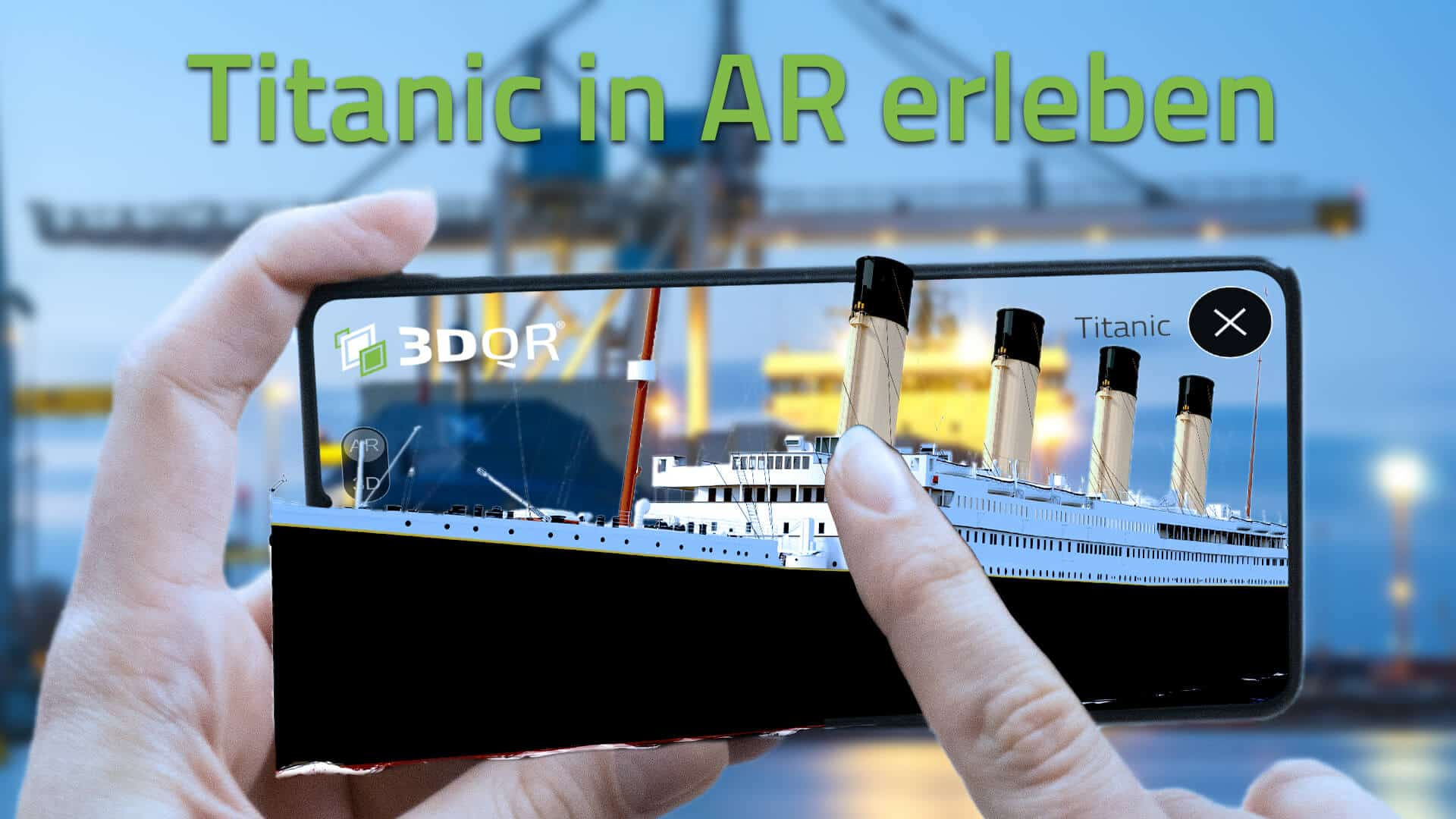 Titanic in Augmented Reality