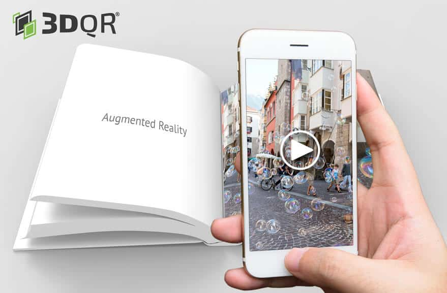Book that can be scanned with an AR App